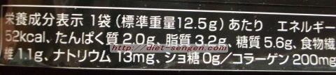 メレンゲハートショコラ 栄養成分・カロリー
